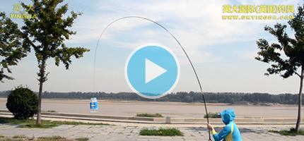英大立晶S系列钓竿垂直顶钓视频