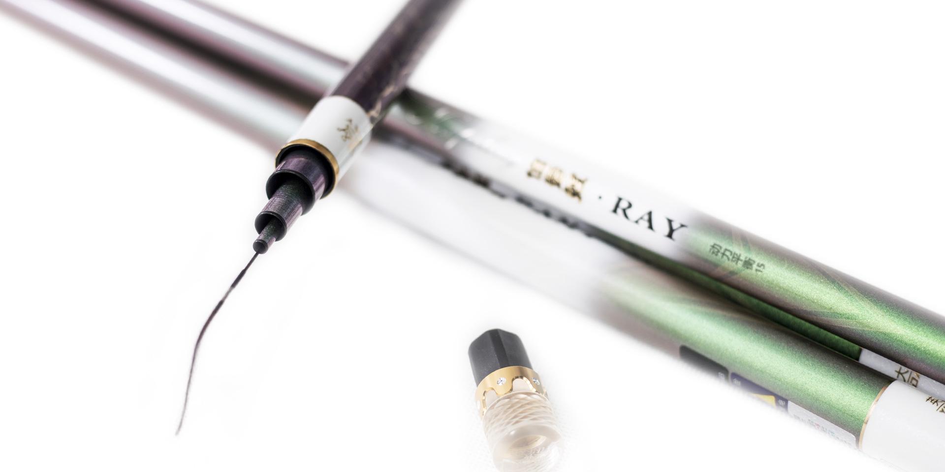 合金嵌钻工艺水晶前堵,竿梢节装配防线缠绕万向合金转环