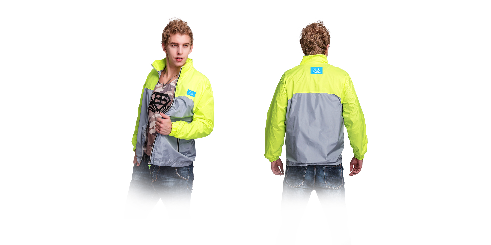 2018新款轻量耐候防风衣,轻若无物,为你全天候防护!