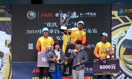 FTT安徽临泉站:朱清夺冠,多魔HK6助力夺冠利器鱼情分析!