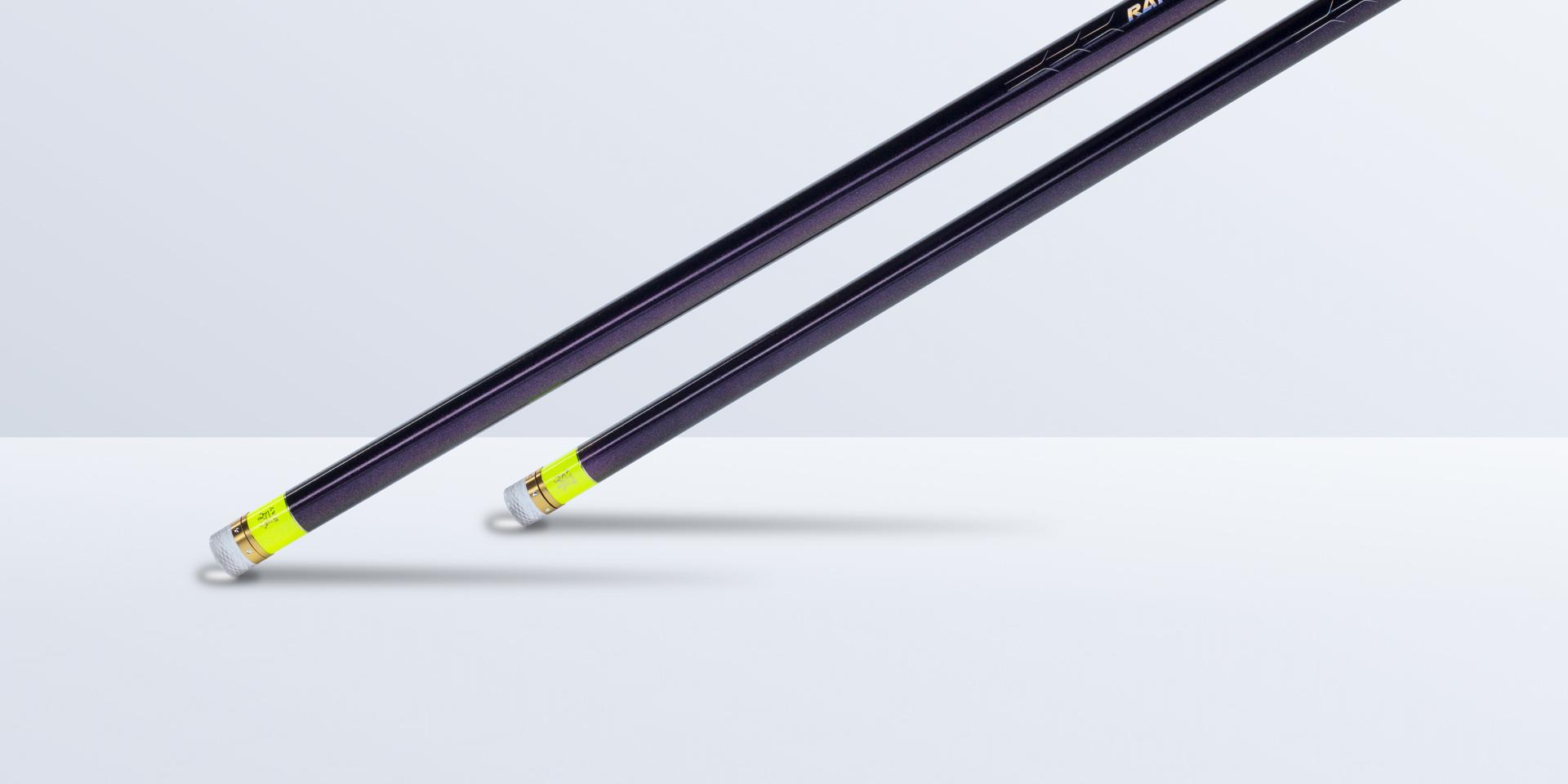 竿身涂装设计以RAY为主题元素,采用了星空闪金元素设计,貌似置身宇宙给人一种无穷的浩瀚力量。