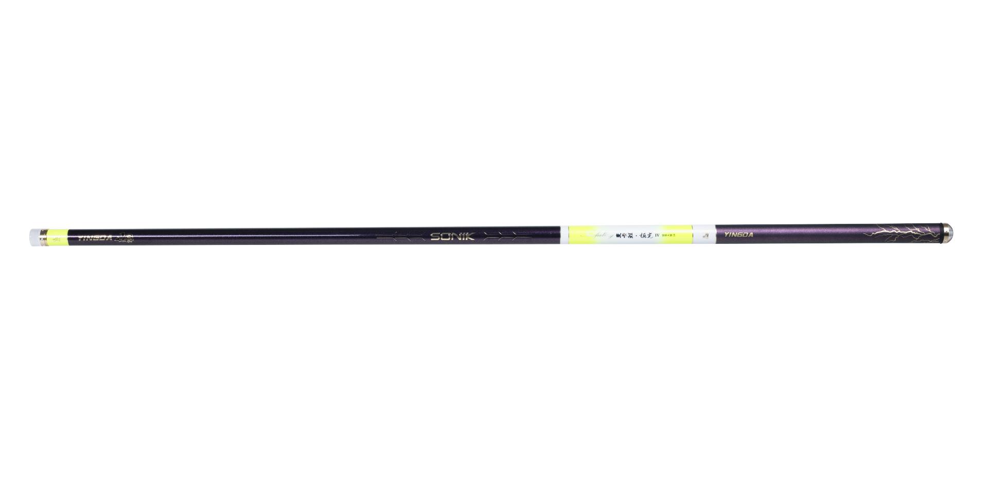 麦卡鲤・极光Ⅳ 大物版是一款高强度超轻大物专用竿(麦卡鲤・极光 Ⅲ代升级款)